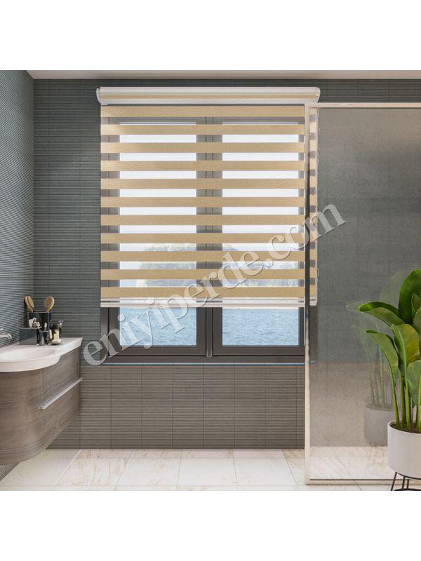 Bambu Bal Köpüğü Zebra Perde - 7104 (01)