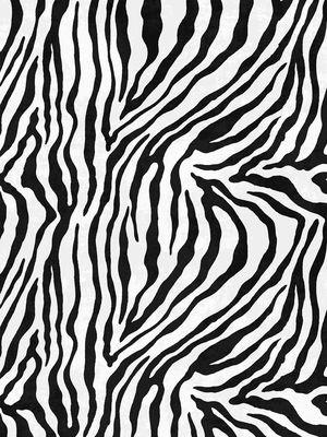 Destan Zebra Desen SAÇAKSIZ Lateks Deri Taban Su Geçirmez Leke Tutmaz Halı